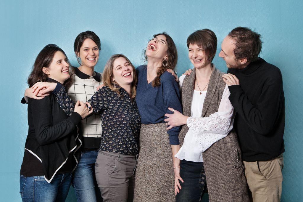 Die Lehrer der Sprachschule in Paris