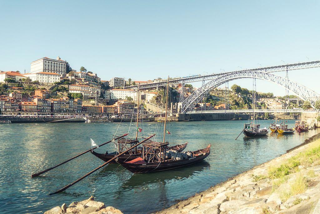 Douro Fluss, Porto - Sprachreise nach Portugal