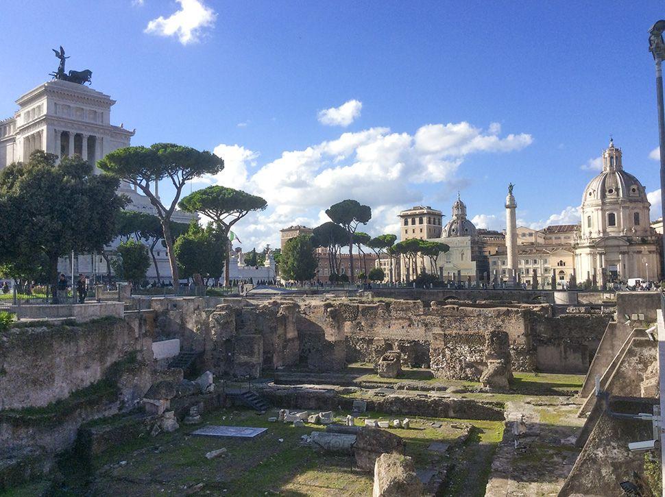 Sprachkurse in Rom, Römerreste