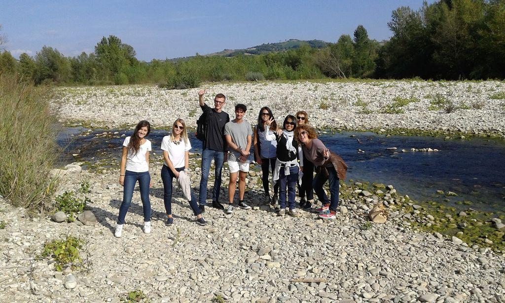 Rimini, Studenten der Sprachschule