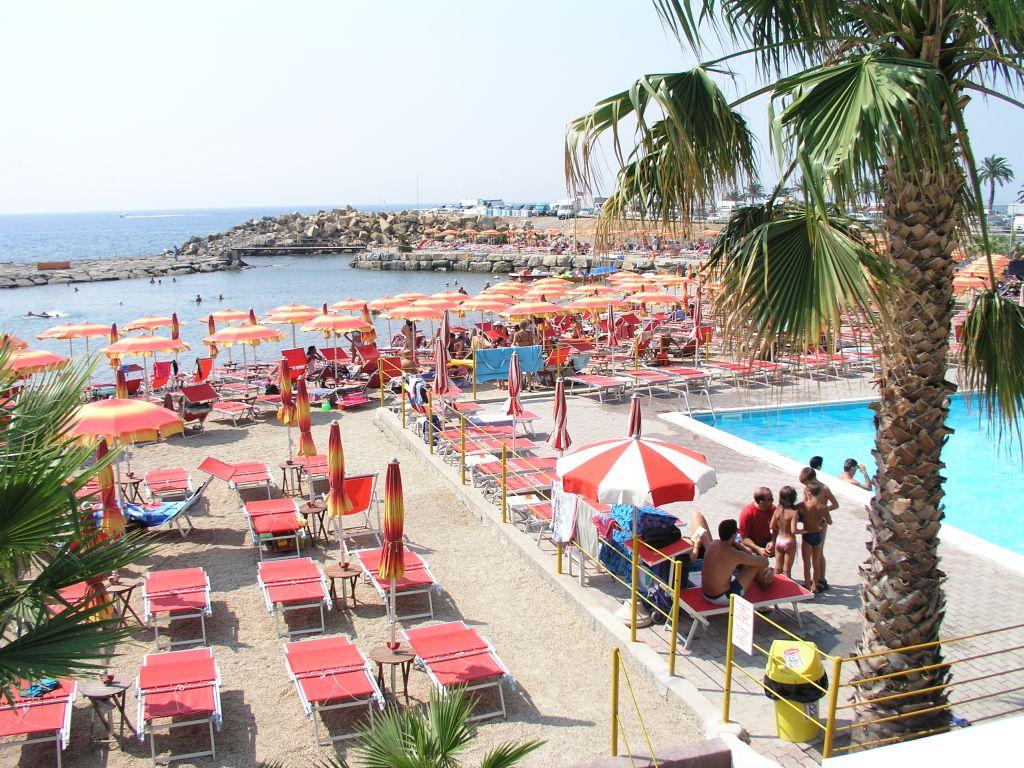 Der Strand in San Bartolomeo - Italienisch Sprachreise