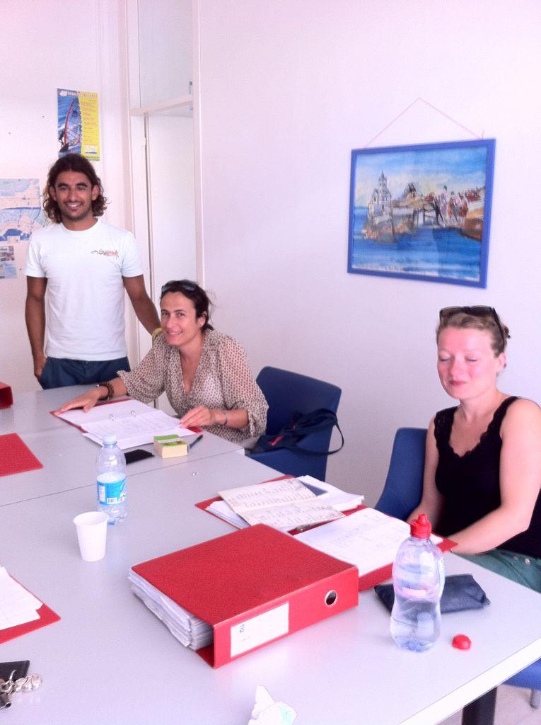 Italienisch lernen in Ligurien - Studenten der Sprachschule