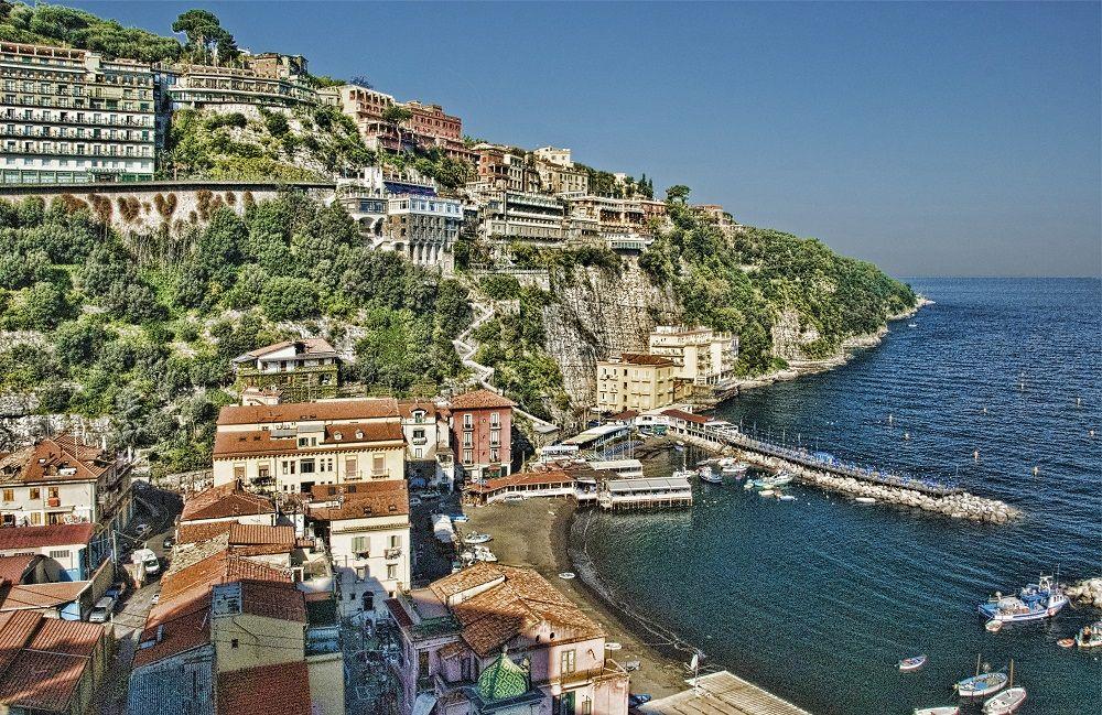 Was für ein Panorama! Italienischkurse in Sorrento