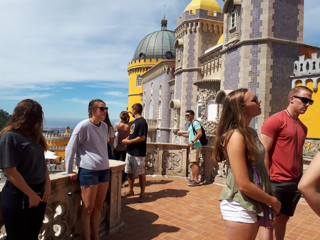 Ausflug mit der Sprachschule nach Sintra