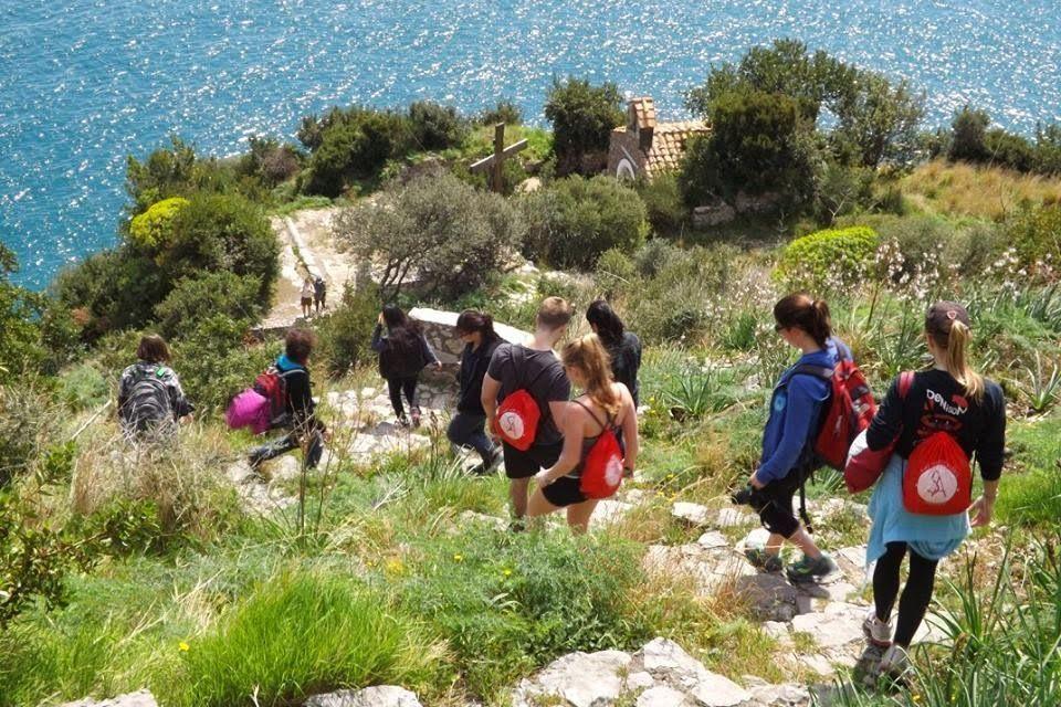 Ausflug in Sorrento mit der Sprachschule