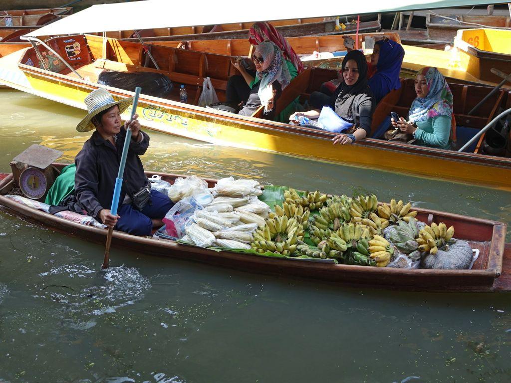 Damnoen Saduak - Schwimmender Markt, Thailand