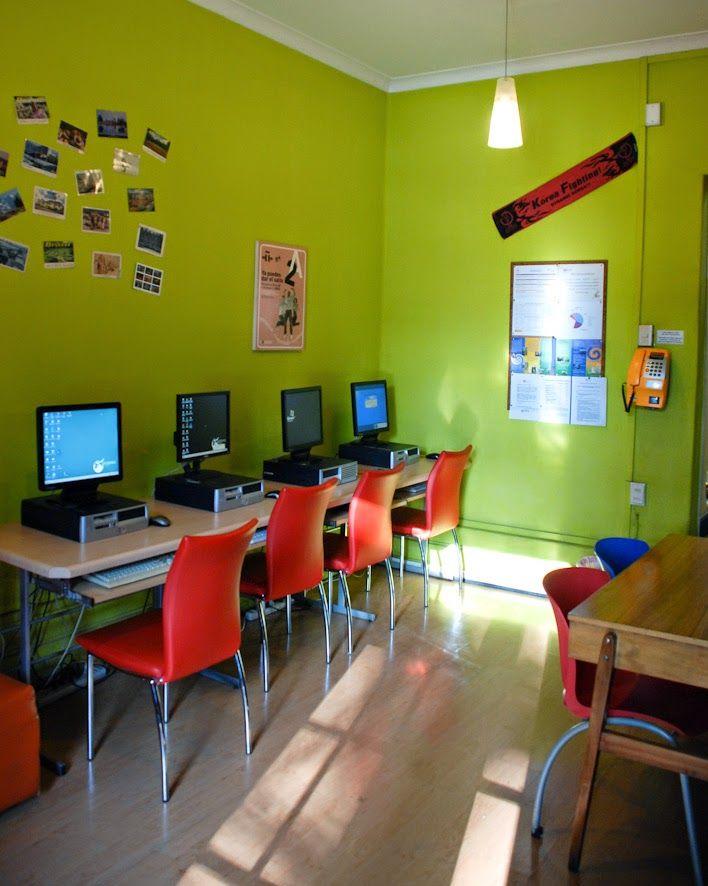 Komputerraum der Sprachschule