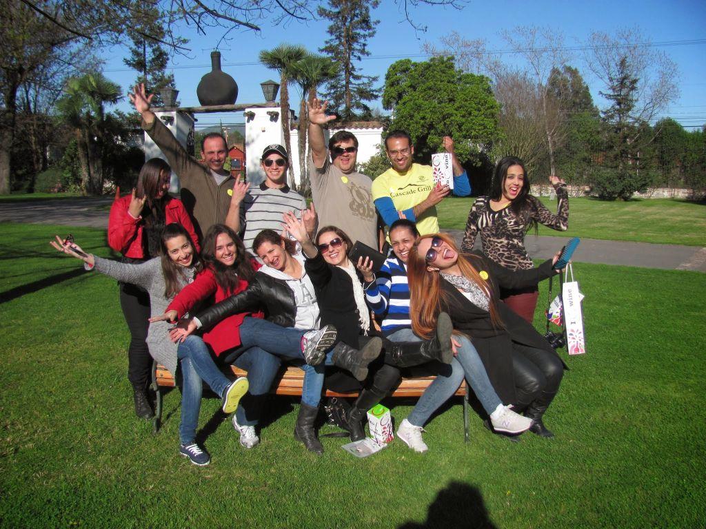 Ausflug mit der Sprachschule in Santiago