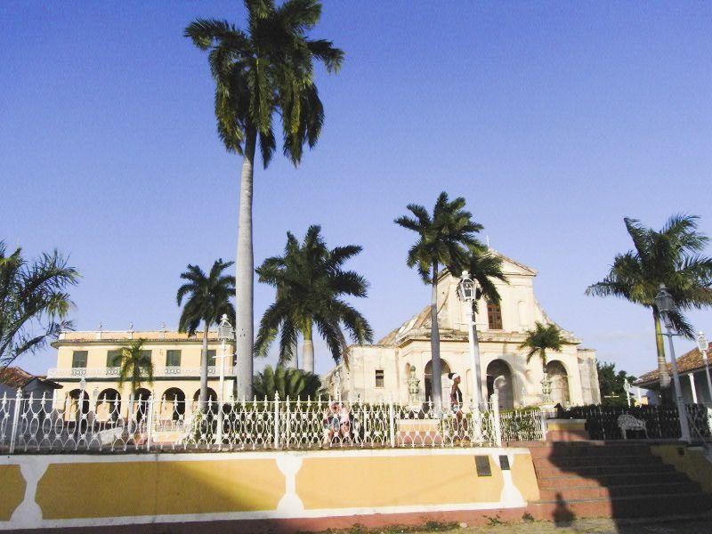 Spanisch lernen in Trinidad - Plaza Mayor