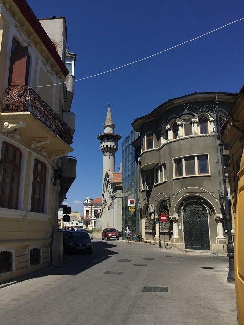 Constanza Stadtpromenade in Rumänien