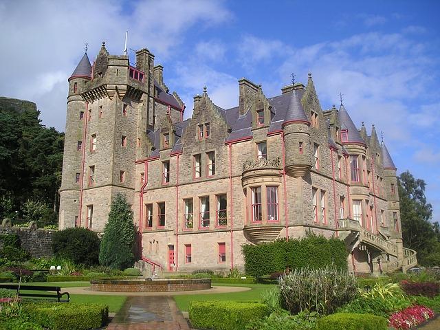 Belfast Schloss - Englisch lernen in Belfast