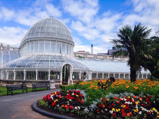 Botanischer Garten in Belfast - Englisch lernen