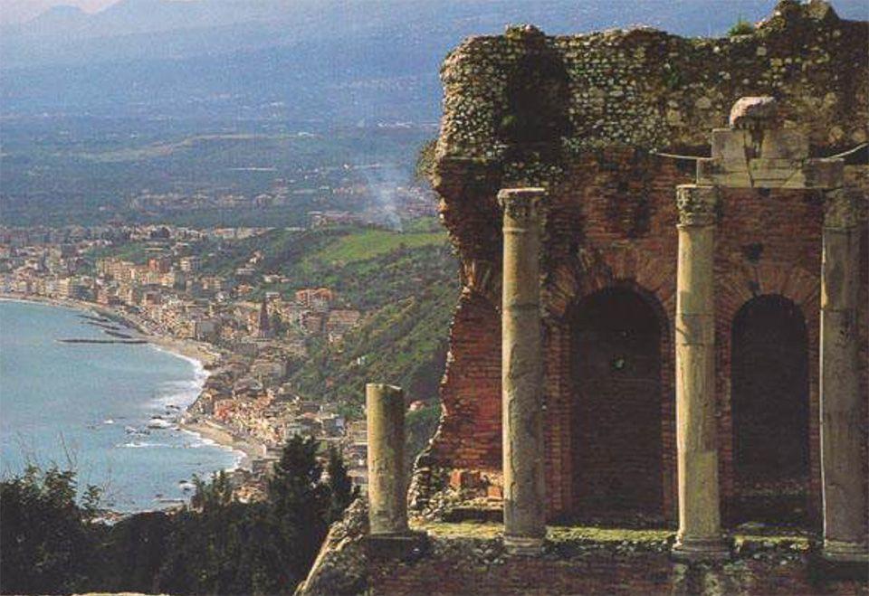 Monte Pellegrino mit Blick auf Palermo