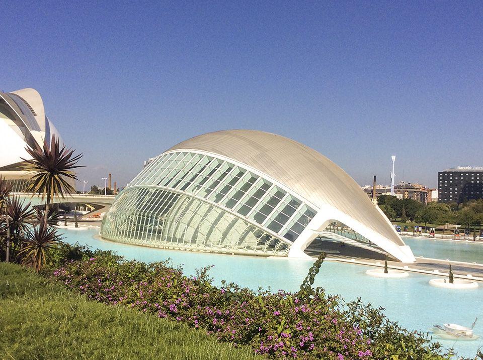 Spanishkurse in Valencia - Ciudad de Ciencias
