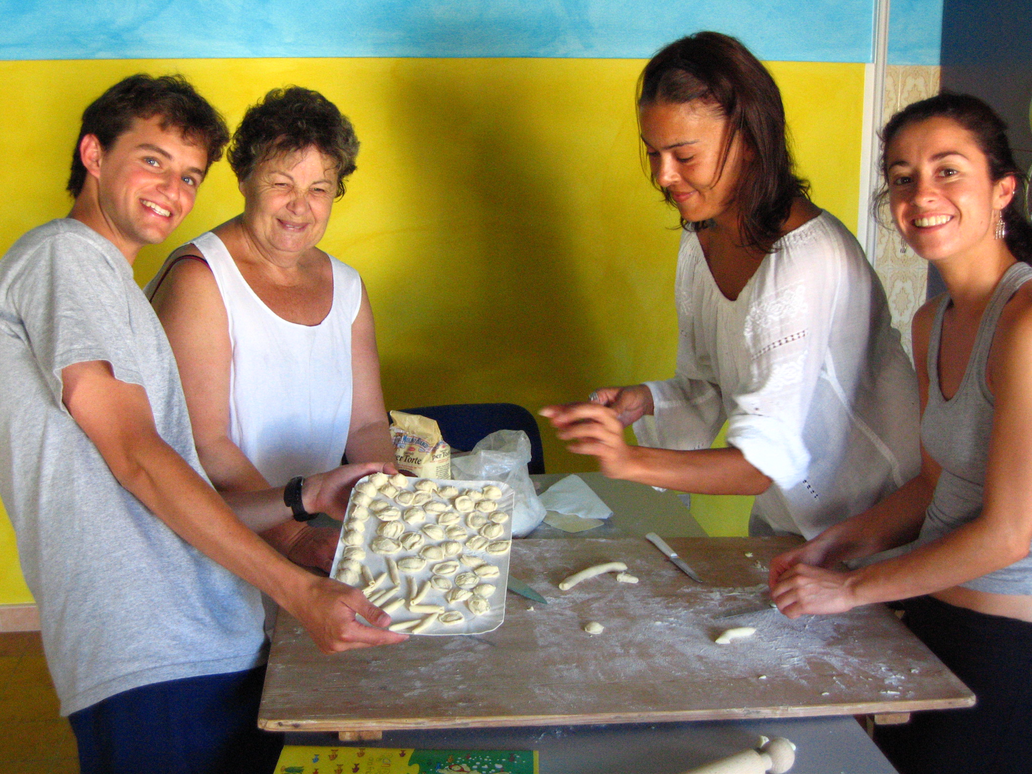 Kochkurs in Otranto - Italienisch Sprachreise