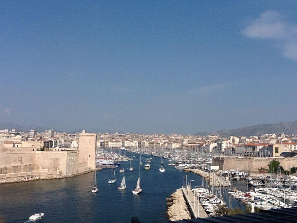 Hafenansicht Marseille