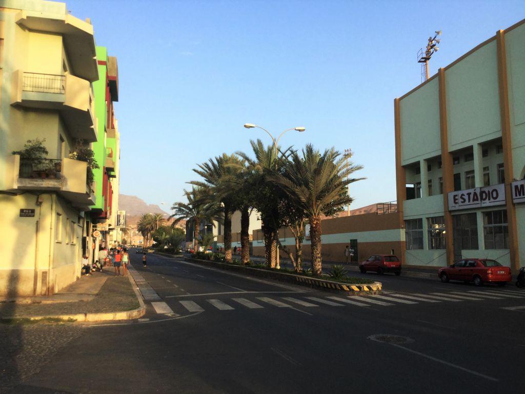 Die Umgebung der Portugiesisch Sprachschule in Mindelo San Vincente, Cabo Verde