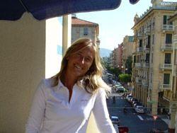 Aussicht vom Balkon der Sprachschule aus