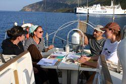 Italienisch lernen auf dem Segelboot