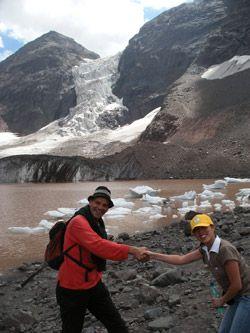 Exkursion in den Anden