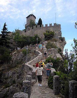 Freizeit nach dem Italienischkurs: Ausflug nach San Marino