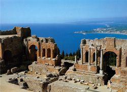 Taormina, Italienisch lernen in Sizilien
