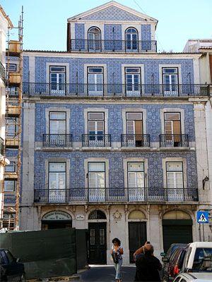 Azulejos in Lissabon - Sprachreise nach Portugal