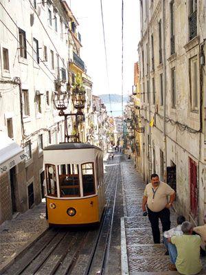 Electrico, die alte Straßenbahn von Lissabon - Sprachreise nach Portugal