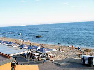 der Strand in Lissabon - Portugiesisch lernen
