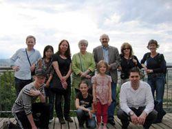 Orvieto - Die Studenten der Sprachschule