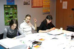 Lernen im Polnischkurs