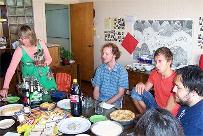 Freizeit nach dem Absolvieren eines Spanischkurses in Valparaiso, Chile