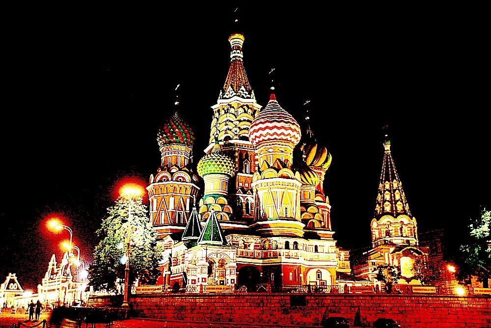 Russischreisen in Moskau