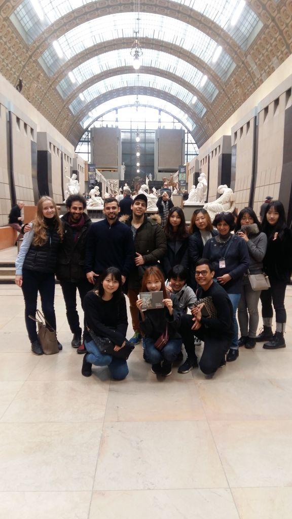 Ausflug mit der Sprachschule - Musee d´Orsay