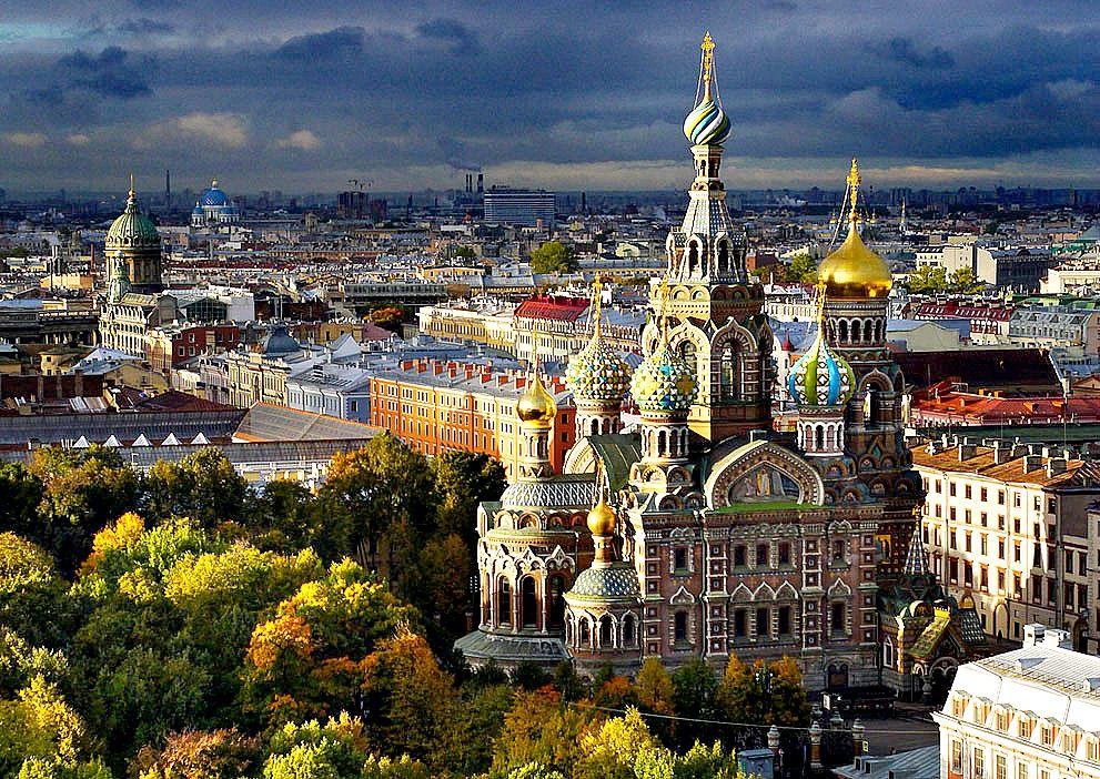 Russisch lernen in St. Petersburg