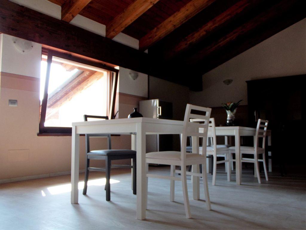Die Lobby des B&B - Italienisch Sprachkurs in Piemont