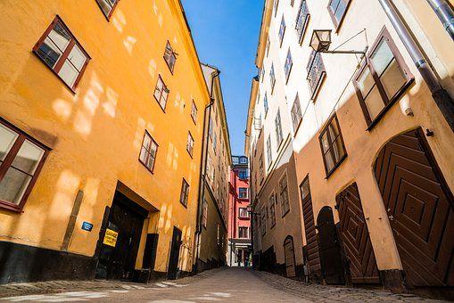 Stockholm - Altstadt Gamla Stan - Swedisch lernen