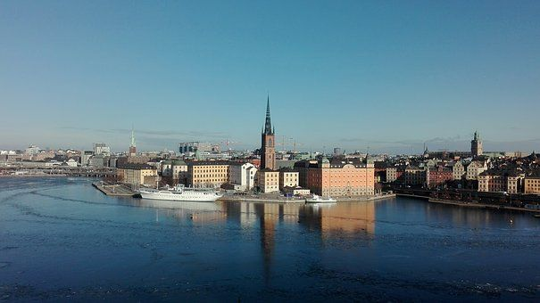 Das Schloss in Stockholm - Swedisch lernen